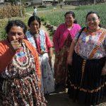 Starke Frauen 2016 aus Guatemala. Foto: INKOTA-netzwerk e.V.