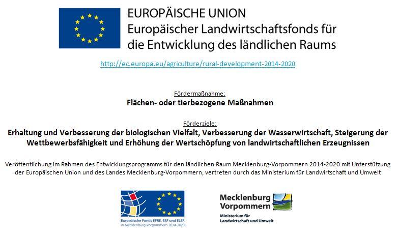 Für meinen Ökoloische Landwirtschaft und meine Blühflächen werde ich durch EU-Agrarförderung unterstützt.